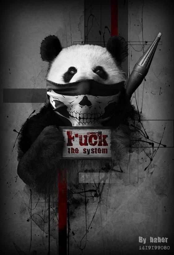 Красивые картинки и изображения панды, панд - подборка артов 3