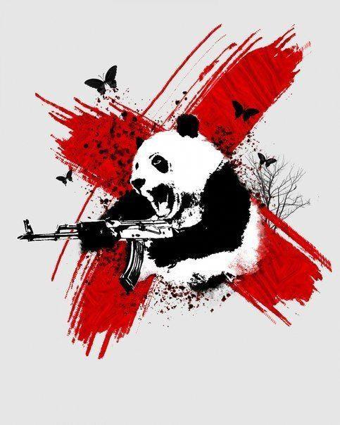 Красивые картинки и изображения панды, панд - подборка артов 7
