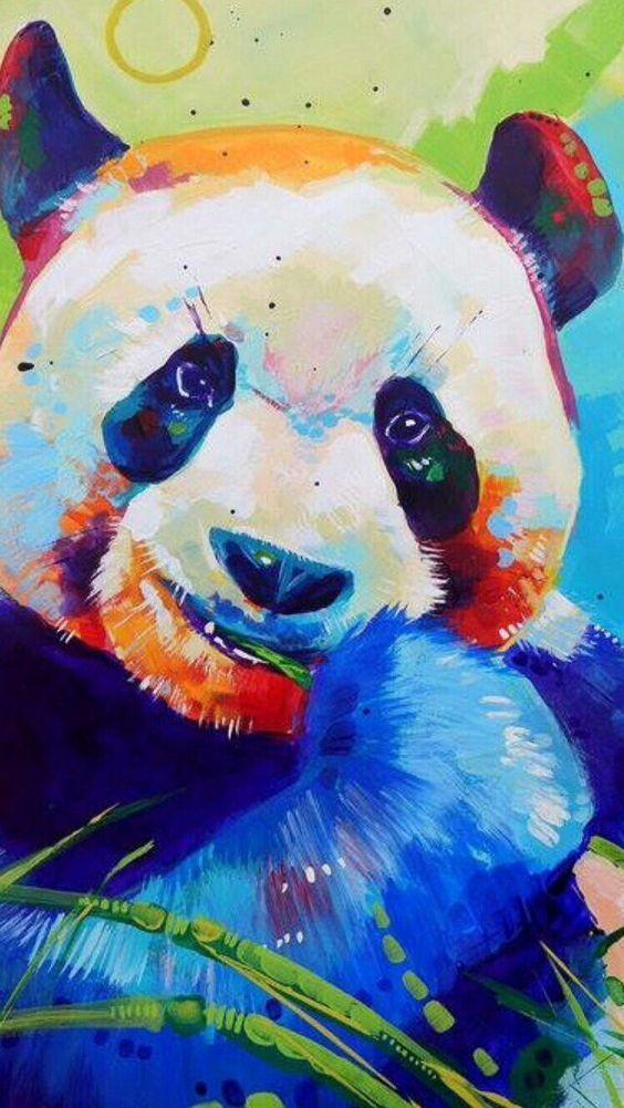 Красивые картинки и изображения панды, панд - подборка артов 8