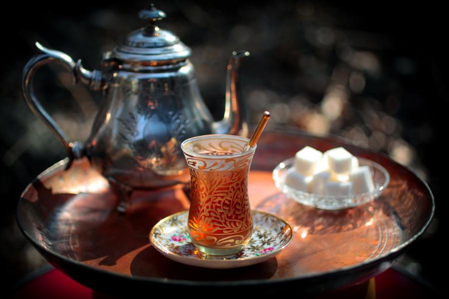 Красивые картинки чая на утро, чай утром - подборка изображений 5