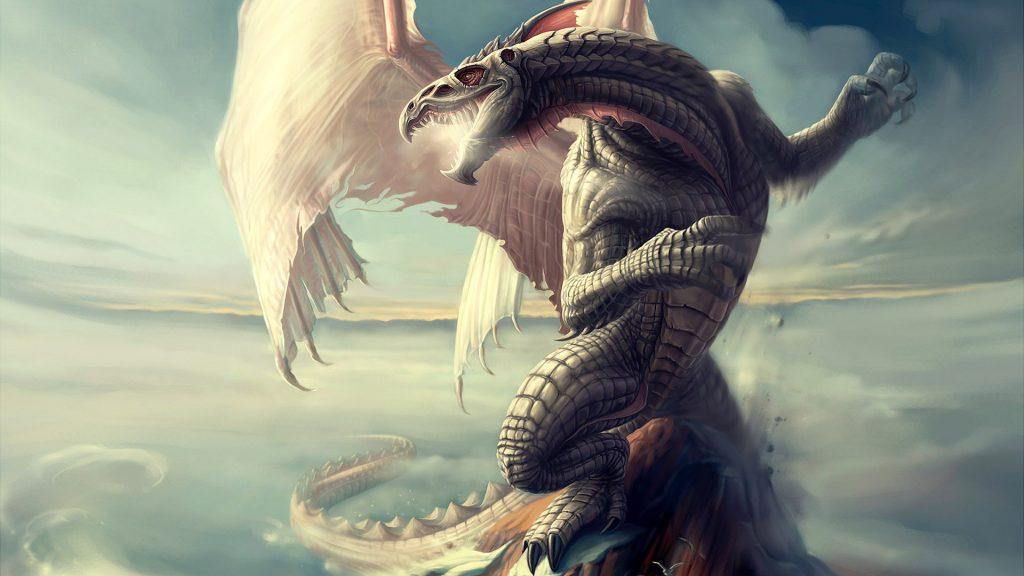 Красивые обои и картинки драконов для рабочего стола - подборка 10
