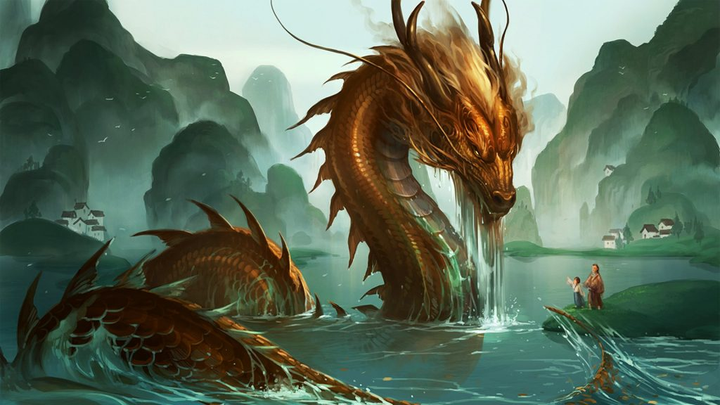 Красивые обои и картинки драконов для рабочего стола - подборка 11