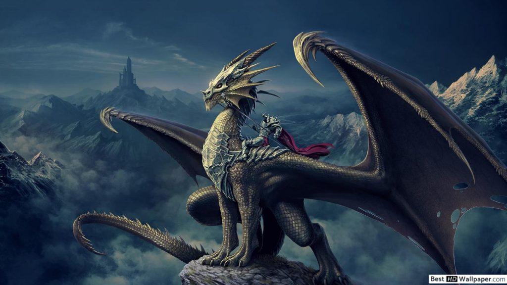 Красивые обои и картинки драконов для рабочего стола - подборка 16