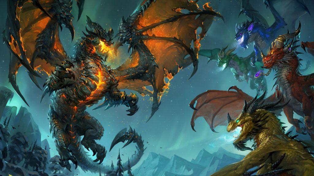 Красивые обои и картинки драконов для рабочего стола - подборка 5
