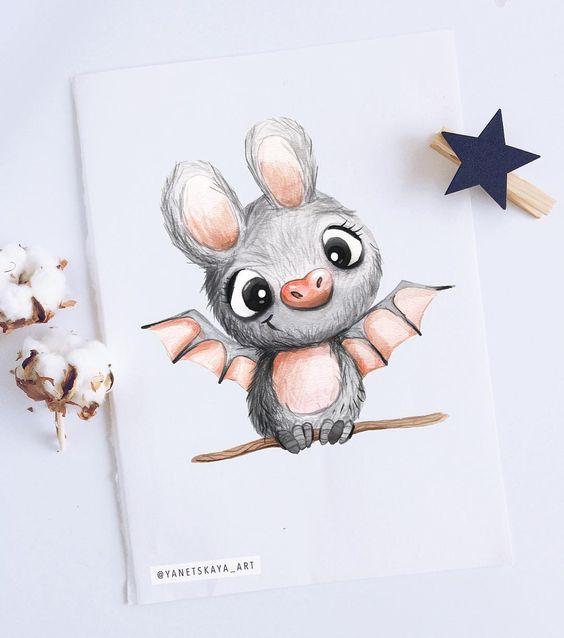 Прикольные и красивые картинки, рисунки животных для срисовки 12