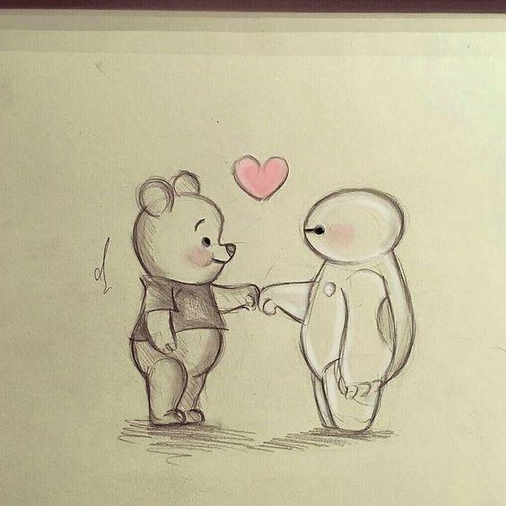Прикольные и красивые картинки, рисунки животных для срисовки 15