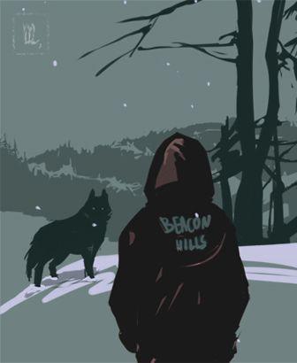 Сериал Волчонок - очень красивые картинки, арты, изображения 16