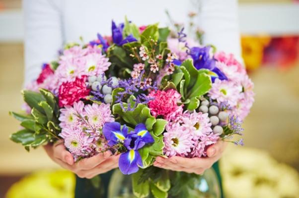 Весенний букет цветов - красивые 20 фото и картинок 13