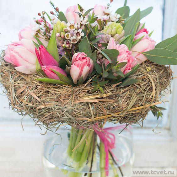 Весенний букет цветов - красивые 20 фото и картинок 14