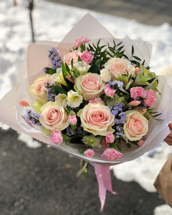 Весенний букет цветов - красивые 20 фото и картинок 16