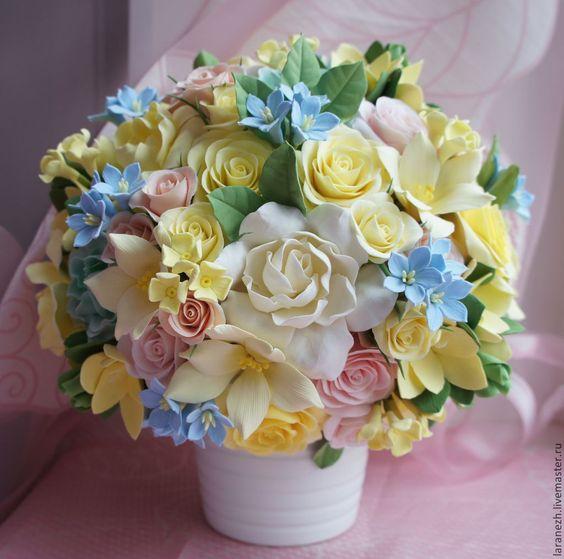 Весенний букет цветов - красивые 20 фото и картинок 17