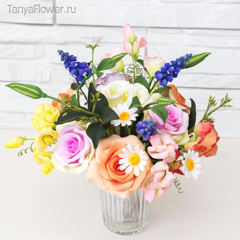 Весенний букет цветов - красивые 20 фото и картинок 19