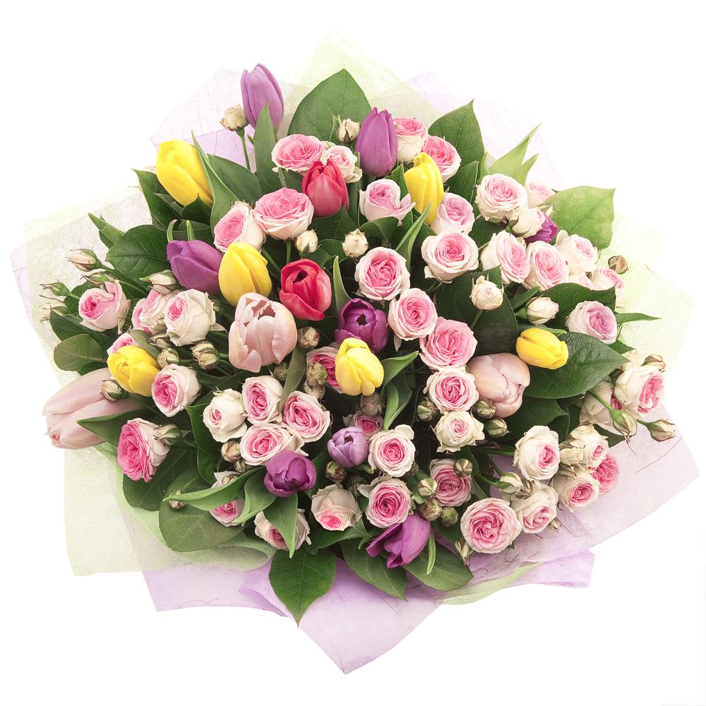 Весенний букет цветов - красивые 20 фото и картинок 20
