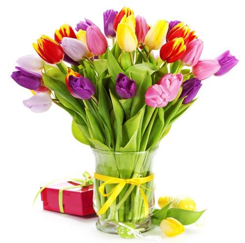 Весенний букет цветов - красивые 20 фото и картинок 22