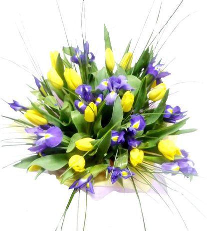 Весенний букет цветов - красивые 20 фото и картинок 23