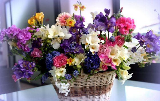 Весенний букет цветов - красивые 20 фото и картинок 26