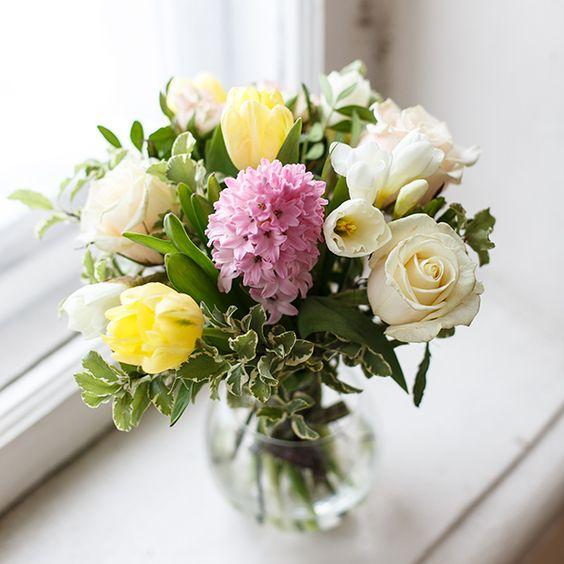 Весенний букет цветов - красивые 20 фото и картинок 7