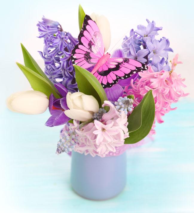 Весенний букет цветов - красивые 20 фото и картинок 8