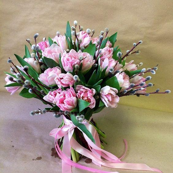 Весенний букет цветов - красивые 20 фото и картинок 9