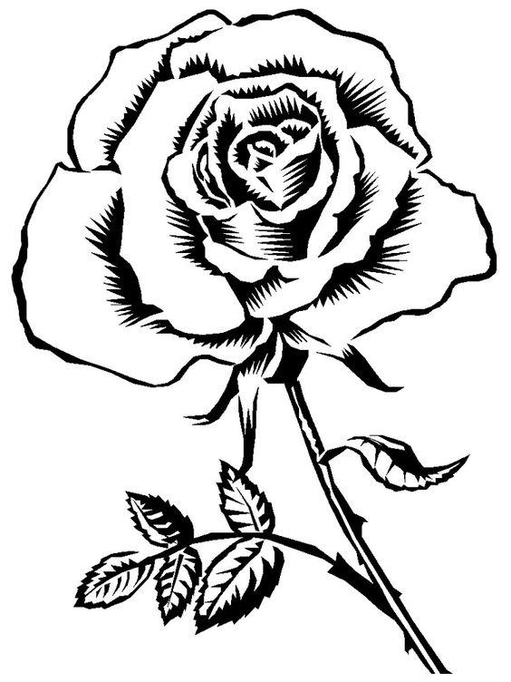 Картинки для распечатки черно-белые - подборка 25 фото (19)