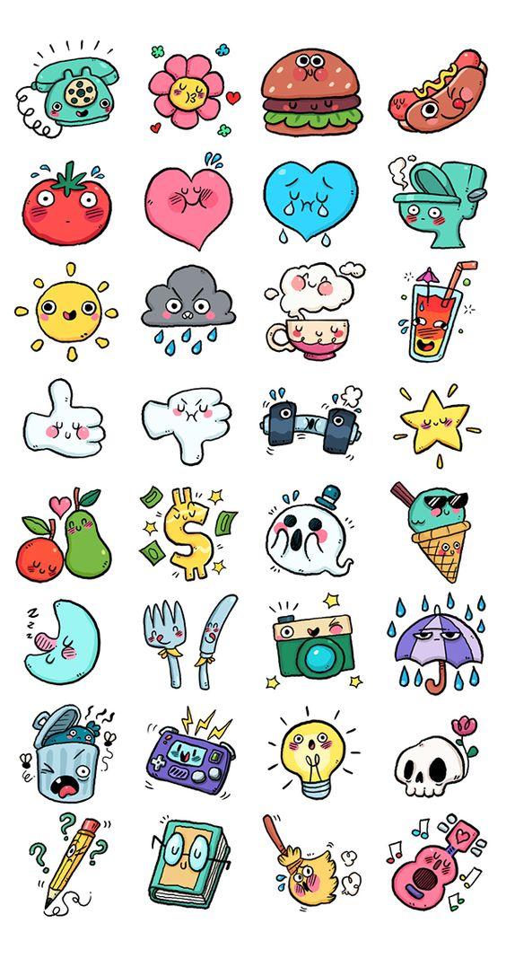 Красивые маленькие рисунки для личного дневника