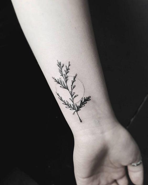 Красивые и необычные тату на запястье - подборка 28 татуировок (10)