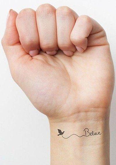 Красивые и необычные тату на запястье - подборка 28 татуировок (2)