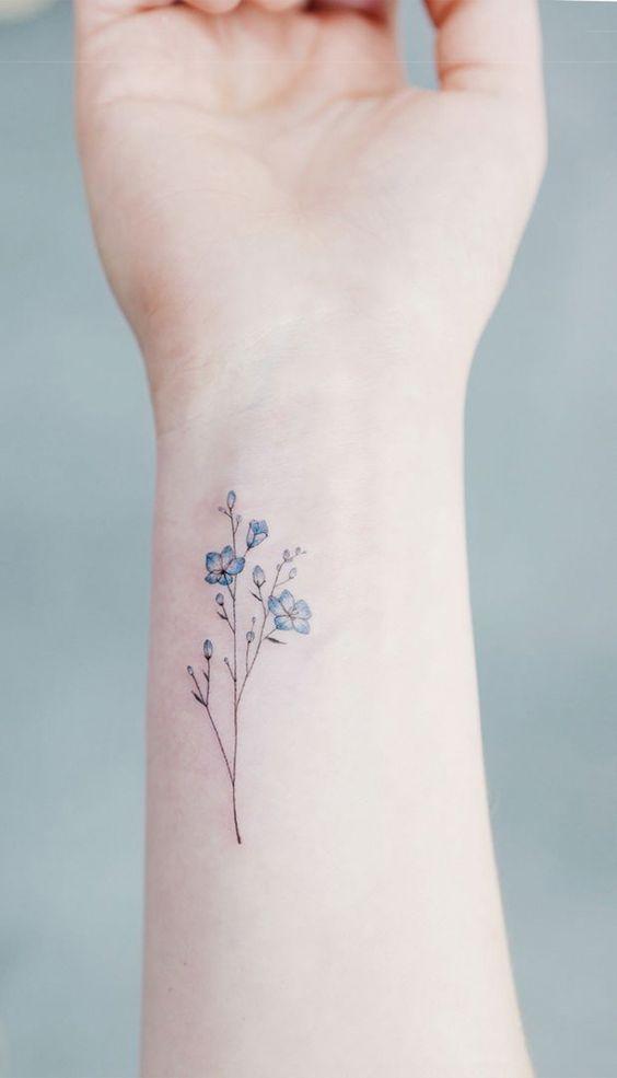 Красивые и необычные тату на запястье - подборка 28 татуировок (9)