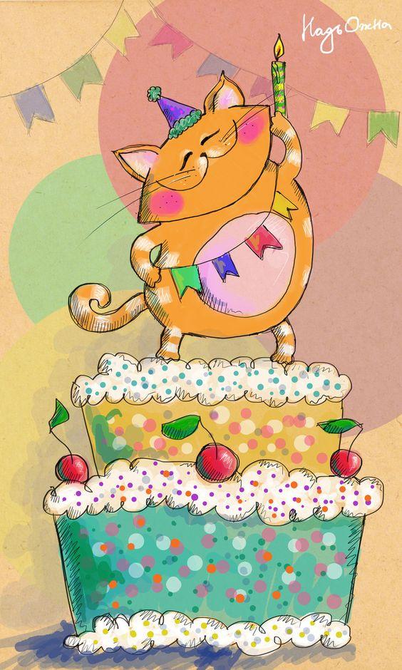 Красивые картинки и открытки - С Днем Рождения меня 7