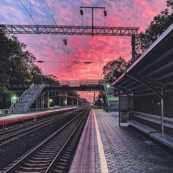 Красивые картинки, фото на тему Розовое небо - сборка (1)
