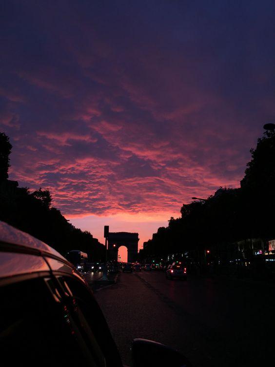 Красивые картинки, фото на тему Розовое небо - сборка (10)