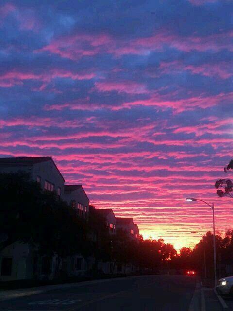 Красивые картинки, фото на тему Розовое небо - сборка (11)