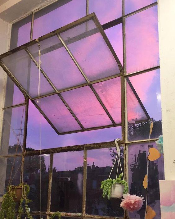 Красивые картинки, фото на тему Розовое небо - сборка (2)