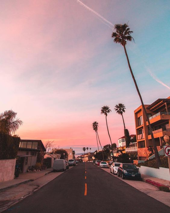 Красивые картинки, фото на тему Розовое небо - сборка (6)