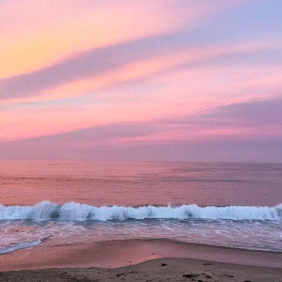 Красивые картинки, фото на тему Розовое небо - сборка (7)
