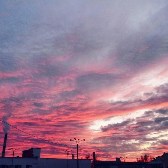 Красивые картинки, фото на тему Розовое небо - сборка (8)