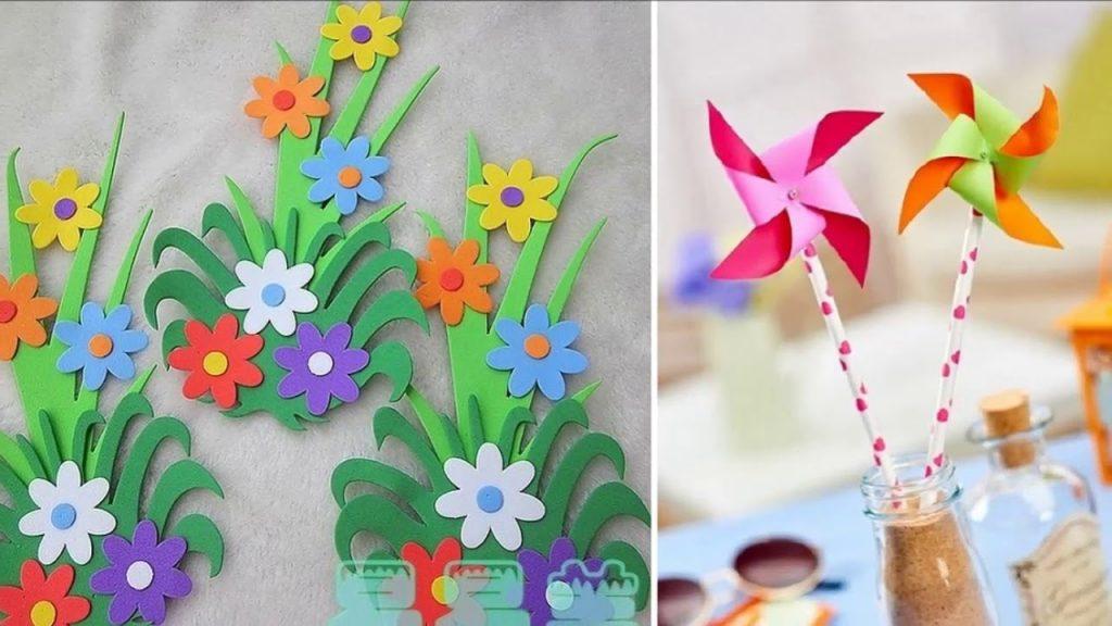 Красивые поделки в садик на тему весна - подборка 20 картинок 1