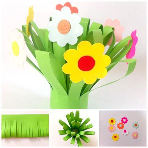 Красивые поделки в садик на тему весна - подборка 20 картинок 11