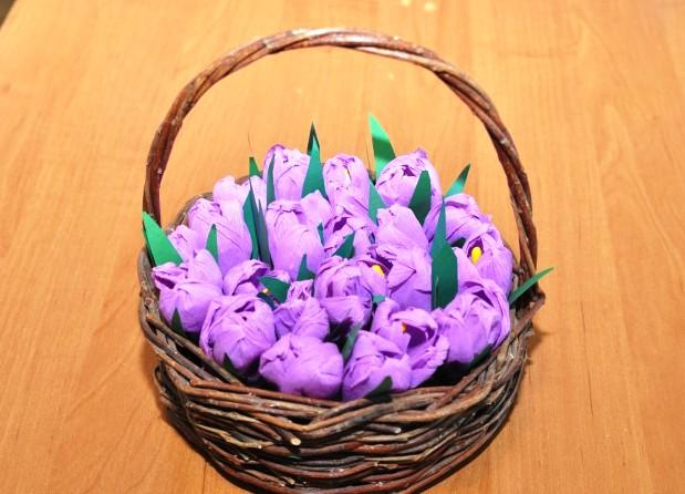 Красивые поделки в садик на тему весна - подборка 20 картинок 16
