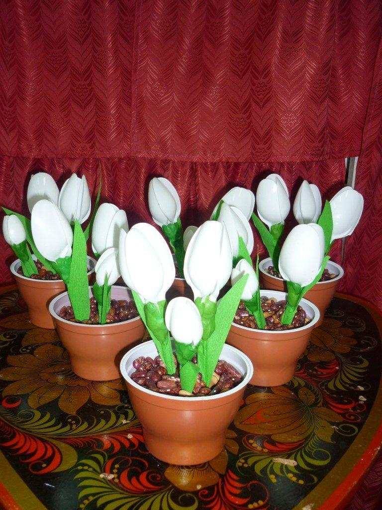 Красивые поделки в садик на тему весна - подборка 20 картинок 2
