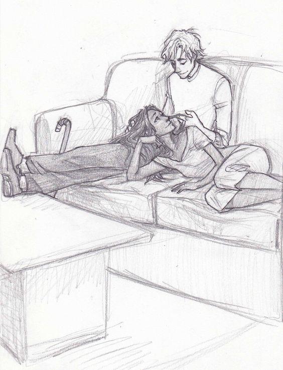 Он и она - картинки карандашом, очень милые рисунки (13)
