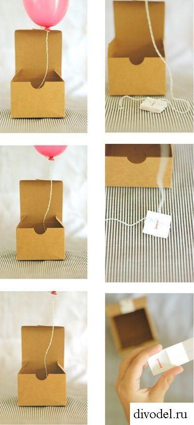 Подарок на День Рождения своими руками - креативные идеи в картинках (1)