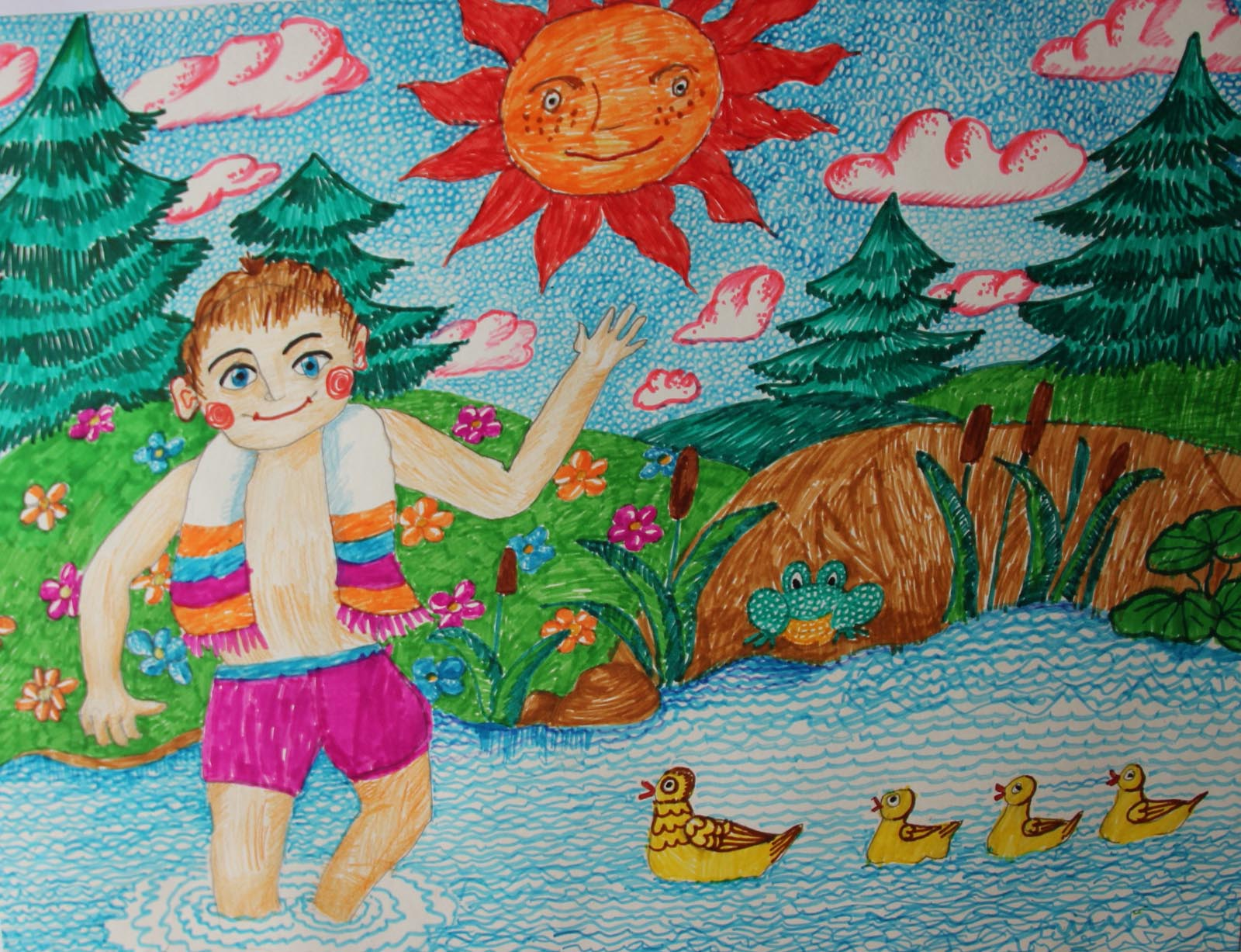 Рисунки Я и моя природа   красивая подборка картинок (10)