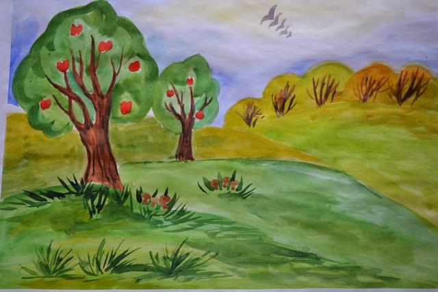 Рисунки Я и моя природа - красивая подборка картинок (12)