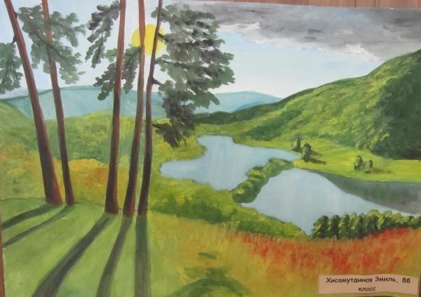 Рисунки Я и моя природа - красивая подборка картинок (13)