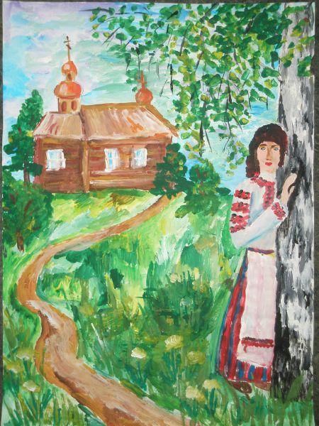 Рисунки Я и моя природа - красивая подборка картинок (15)