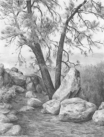 Рисунки Я и моя природа - красивая подборка картинок (6)