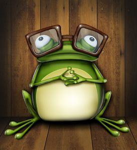 Лягушка рисунок, картинки, изображения - подборка 25 фото 9