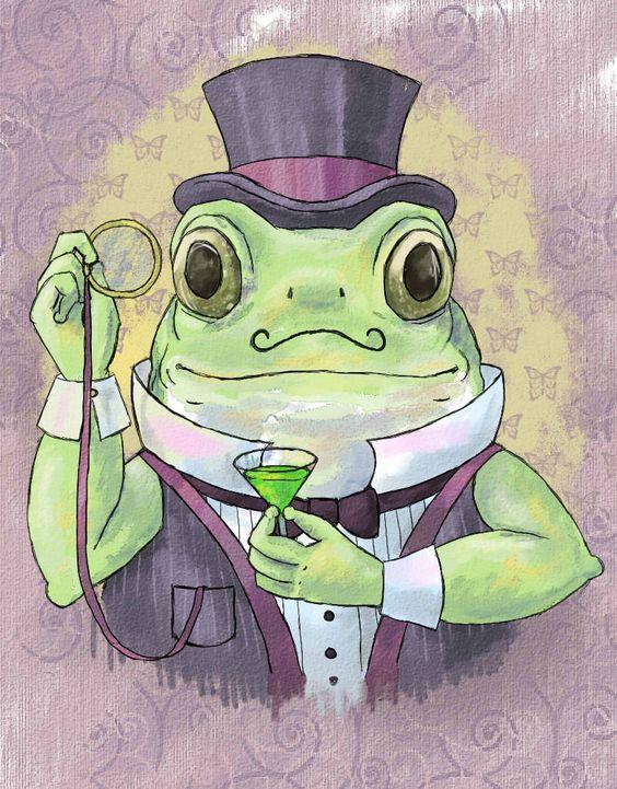 Лягушка рисунок, картинки, изображения - подборка 25 фото 4