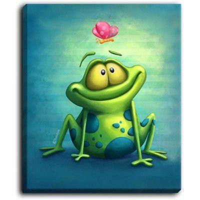 Лягушка рисунок, картинки, изображения - подборка 25 фото 21